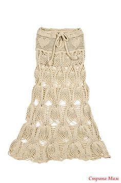 piñas falda de Agostina Bianch