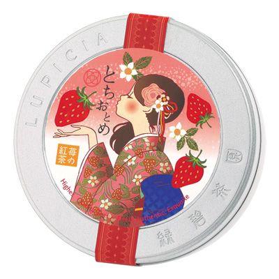とちおとめ  ~苺の紅茶~ 50gデザイン缶入