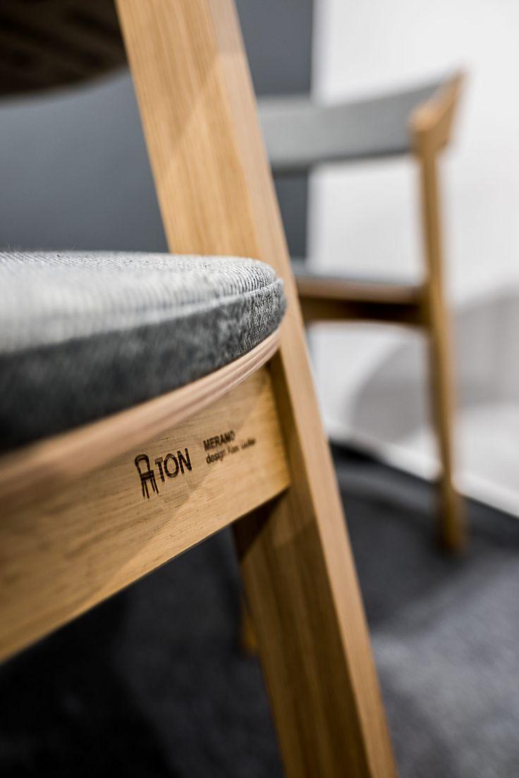 BIURO ARCHITEKTA krzesła | tryc.pl   #chairs #krzesła #office @tonpolska #officedesign