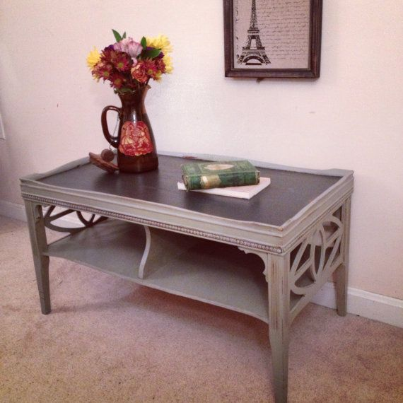 French Linen Chalk Paint Coffee Table: 462 Best Images About Furniture Restoration On Pinterest