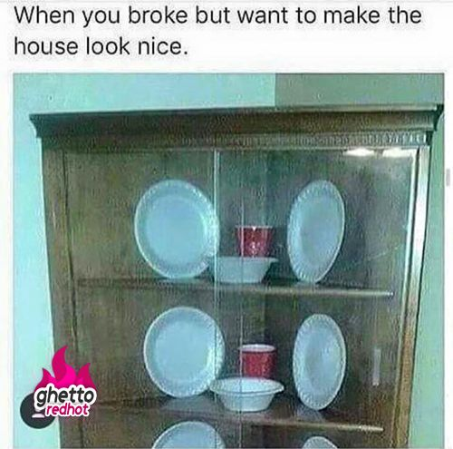 When you broke...
