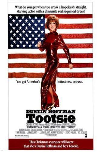 dustin HOFFMAN TOOTSIE movie poster 1985 COMEDY bill MURRAY terri GARR 24X36