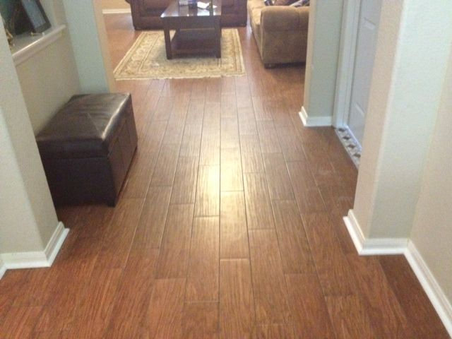 Shaw Petrified Hickory Ancient - Wood Tile Installation ...