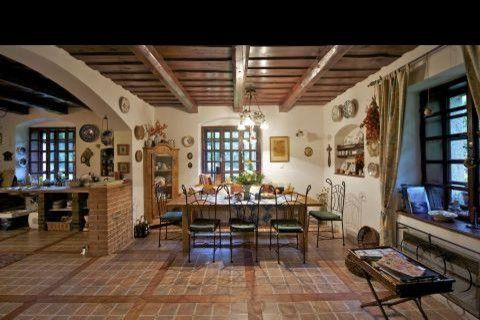 Best picture of kitchen tile flooring designs using old for Spanish style floor tiles