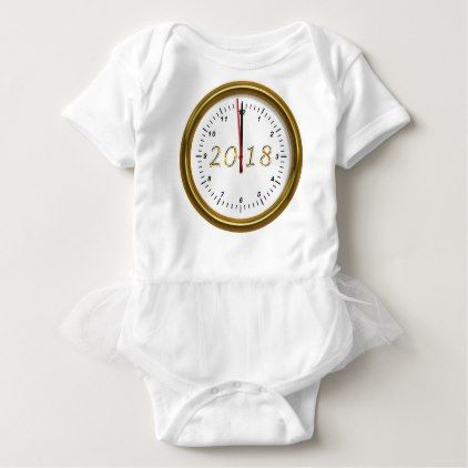 Happy New Year 2018 Baby Bodysuit - new years eve happy new year holiday diy party