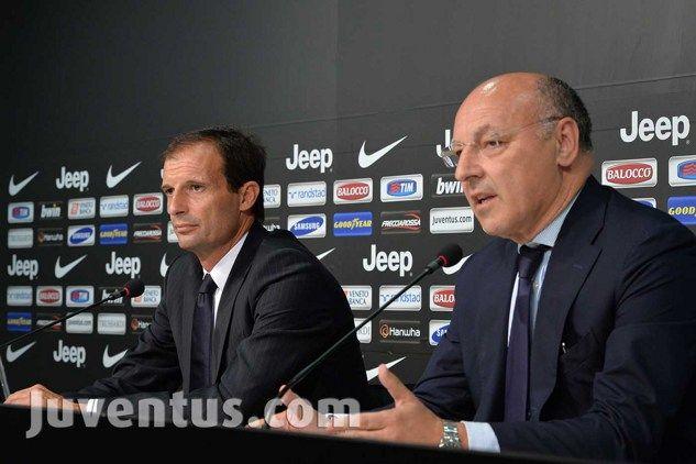 """Massimiliano Allegri è il nuovo allenatore della Juventus. Lo annuncia, presentandolo, Giuseppe Marotta in una conferenza stampa che segna un passaggio importante per il presente e per il futuro bianconero: """"Allegri è un tecnico che ha sempre dimostrato di saper vincere ovunque ha allenato[...]"""""""
