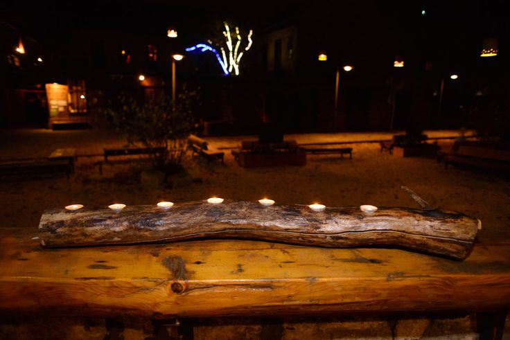 Tee light holder by HolzDinge on Etsy
