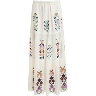 Olivia Palermo wearing Melissa Odabash Pixi Skirt