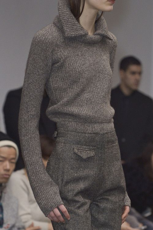 CHRISTOPHER LEMAIRE FW 2013. Loving this jumper.