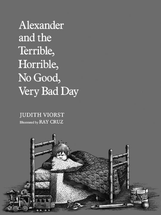 Kindle 4 Screensaver: Alexander and the Terrible, Horrible, No Good, Very Bad Day