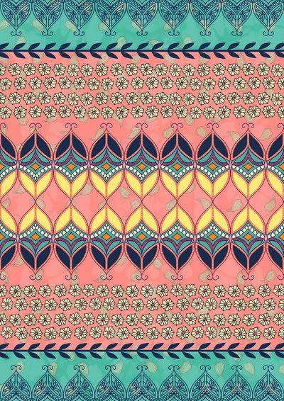 nice pattern wallpaper boho - photo #42