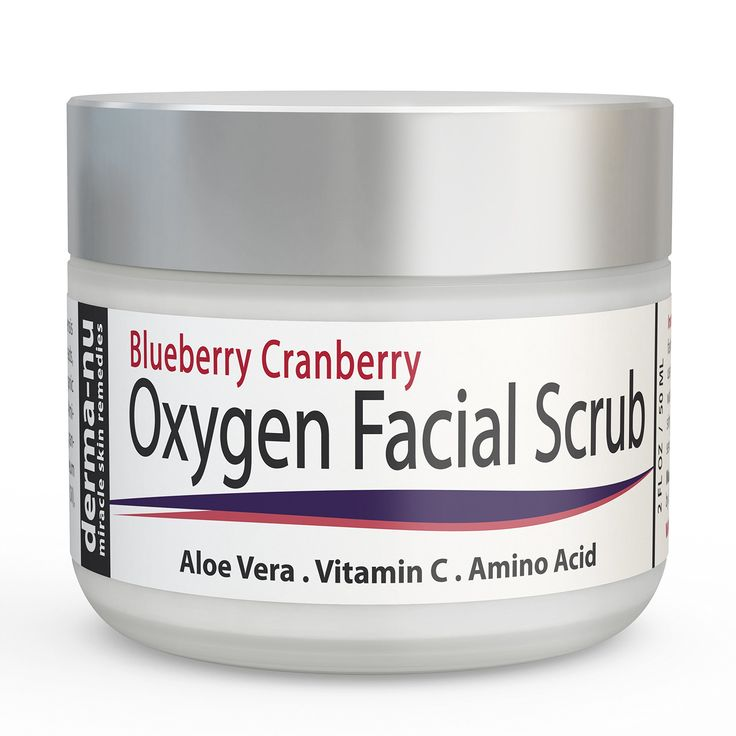 The cranberry homemade facial given someone