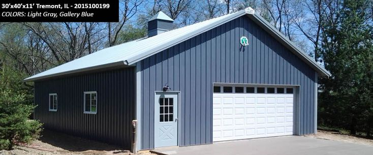 Cleary Building Photo Gallery - I like this color blue
