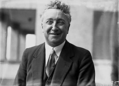 Joseph Lyons, Tasmanian and former Australian Prime Minister.  Photo from the National Archives of Australia.
