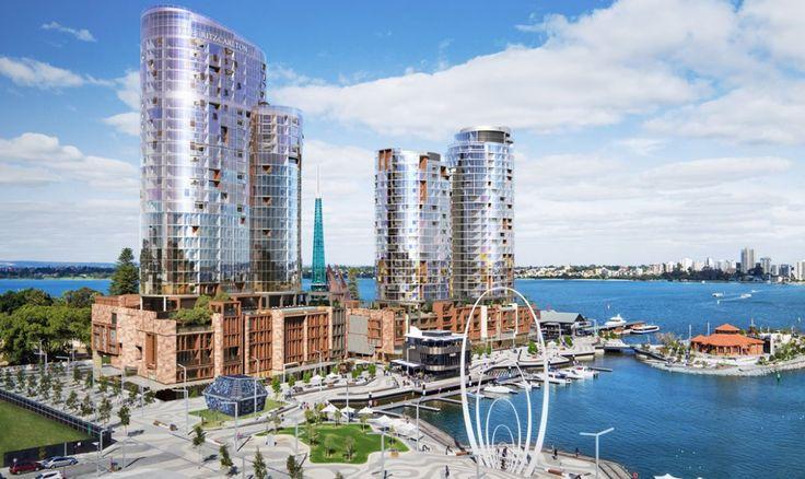 The Ritz Carlton Hotel Development, Elizabeth Quay Perth