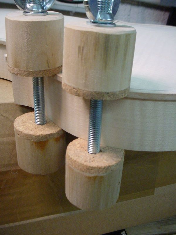 Rib clamps for Stringed Instruments