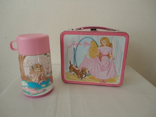 Aladdin Junior Miss Lunch Box ~ circa 1978  (yikes!)