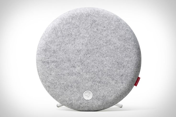 The Libratone Loop Speaker ($500) has a unique, circular design, and can be fitted with a range of wool covers that match with the look of your room, while a wall-mount and bipod stand let you set it up just about anywhere. Inside, two ribbon tweeters and a passive bass radiator give it all the sound of larger speaker systems, while also projecting sound all around, giving it a more three-dimensional sound.