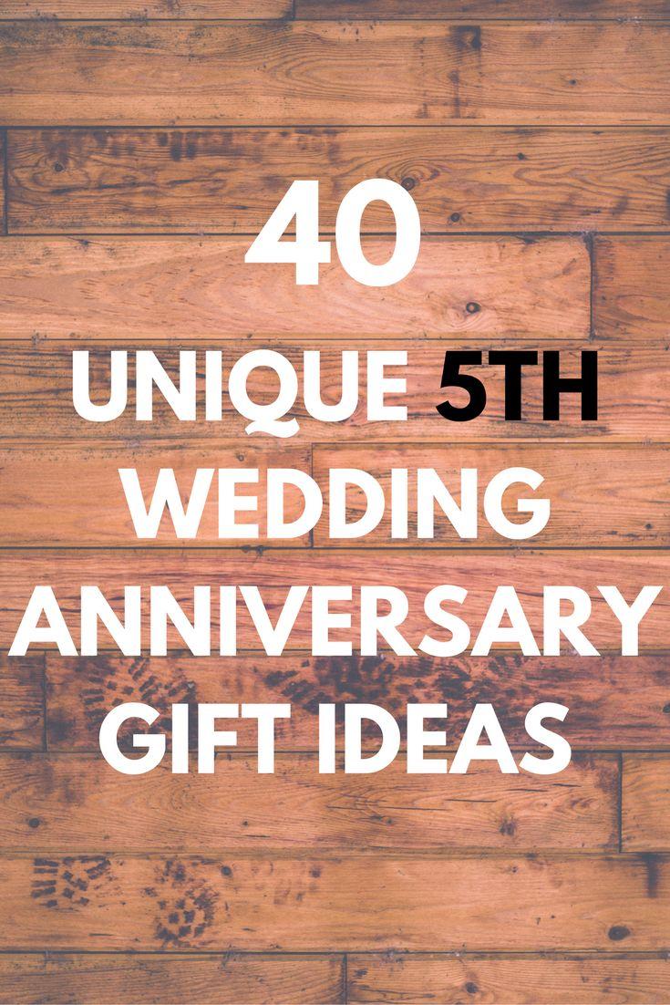 5th Year Wedding Anniversary Gift