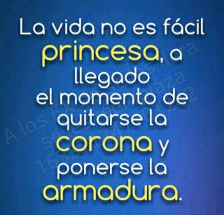 La Vida no es fácil Princesa ...
