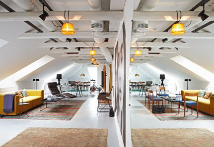 THE ATTIC at Story (Hotel), Stockholm. Love it!