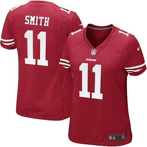 Nike Limited Womens San Francisco 49ers http://#11 Alex Smith Team Color Red NFL Jersey $79.99