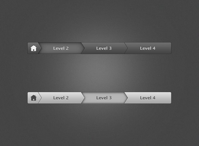 Breadcrumb Navigation - 365psd