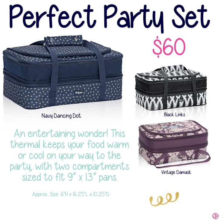 Perfect Party Set by Thirty-One. Fall/Winter 2015. Join my VIP Facebook Page at https://www.facebook.com/groups/JennaBrandes/