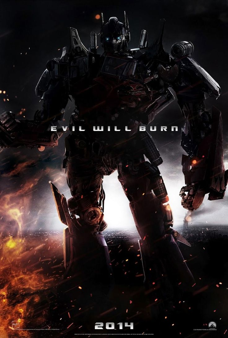 Fan-Made TRANSFORMERS 4 Poster