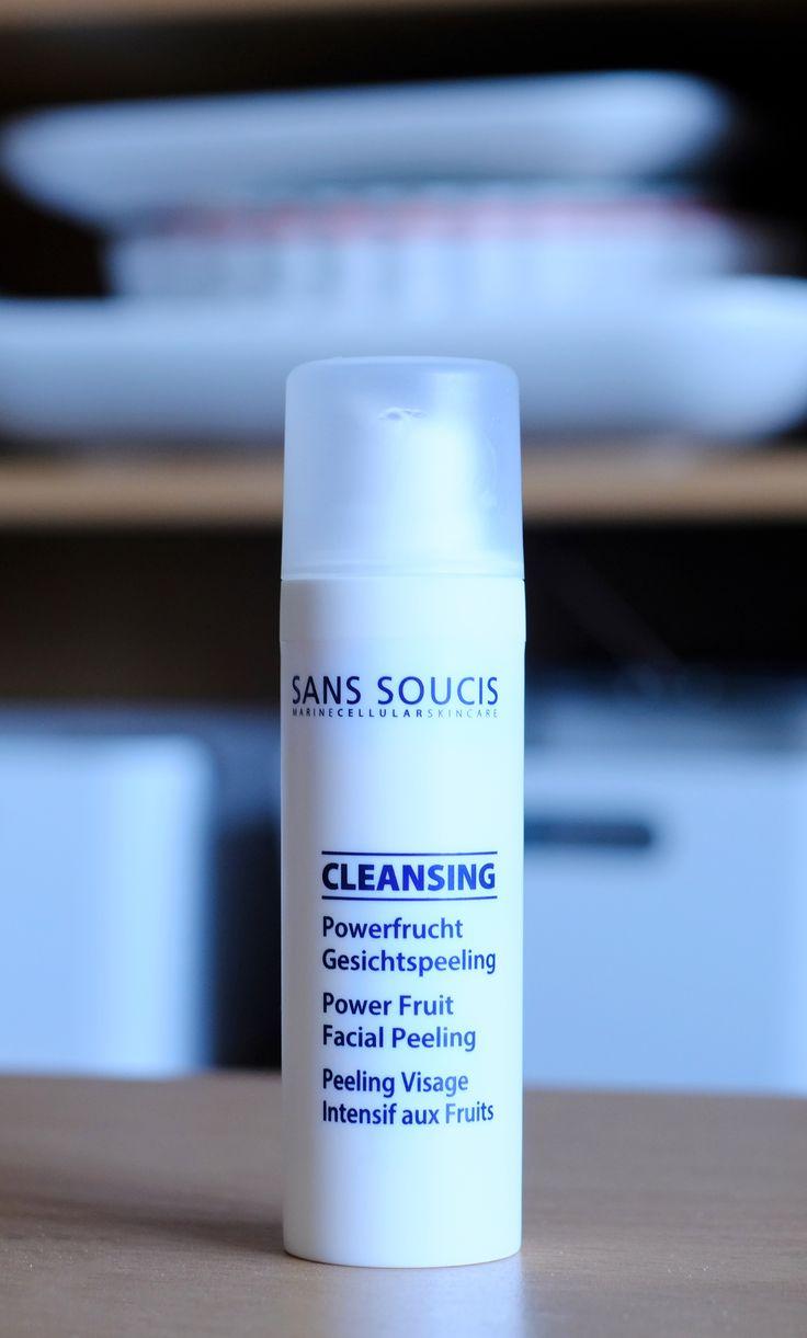 Sans Soucis Kosmetik • Powerfrucht Gesichtspeeling • Fruchtsäurepeeling • Power Fruit Facial Peeling