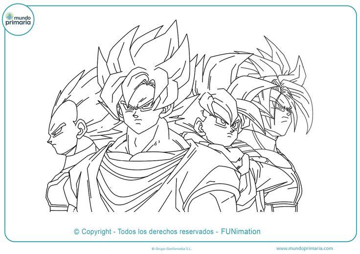 Dragon Ball Z Imagenes Para Imprimir in 2020 Dragon ball