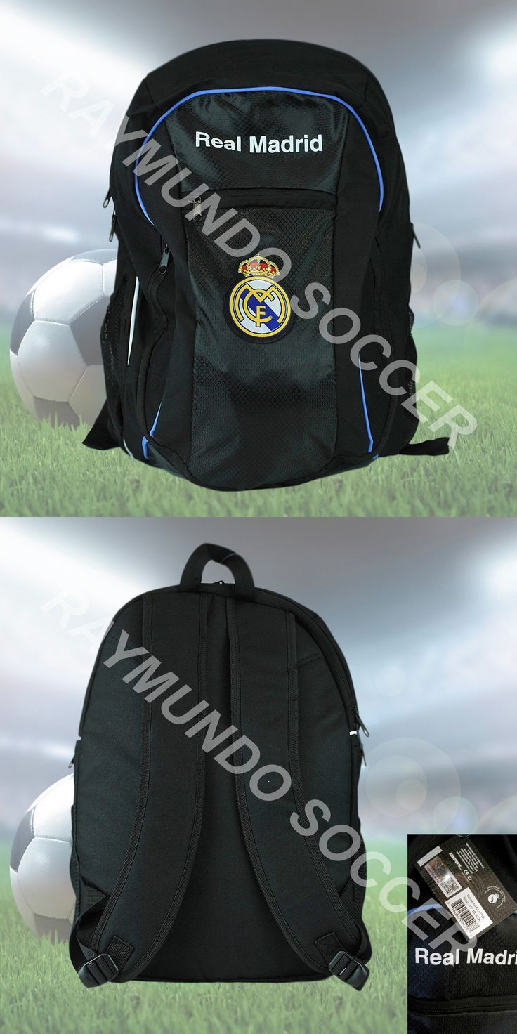 Soccer-Other 2885: Real Madrid Authentic Official Licensed Soccer Backpack -> BUY IT NOW ONLY: $30 on eBay!