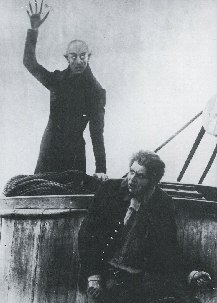 Nosferatu - Count Orloc was a thinly disguised reworking of Dracula, trying to skirt copyright laws of the time. Today, of course, Dracula is in public domain, as is Count Orloc.