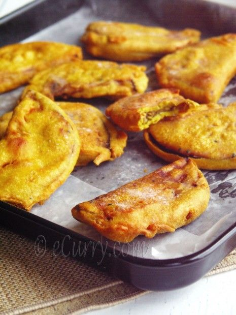 Beguni - Batter Fried Eggplants Beguni Batter, Indian Cooking, Bengali ...