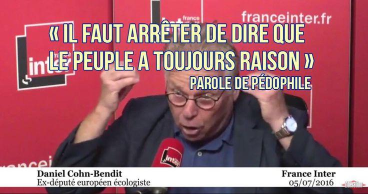 Action française rend une petite visite dans une conférence du pédophile Daniel Cohn-Bendit | Stop Mensonges