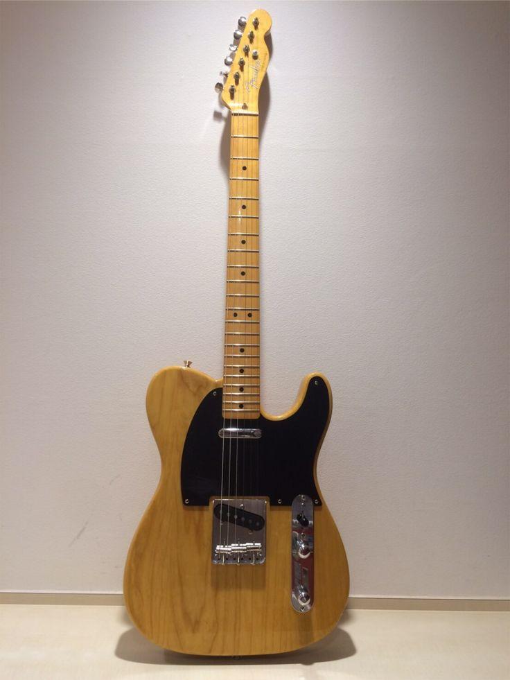 Fender TELECASTER Japan CLASSIC 50s VINTAGE NATURAL サウンドスタジオノア 赤坂 03-3589-6211 http://akasaka.studionoah.jp/