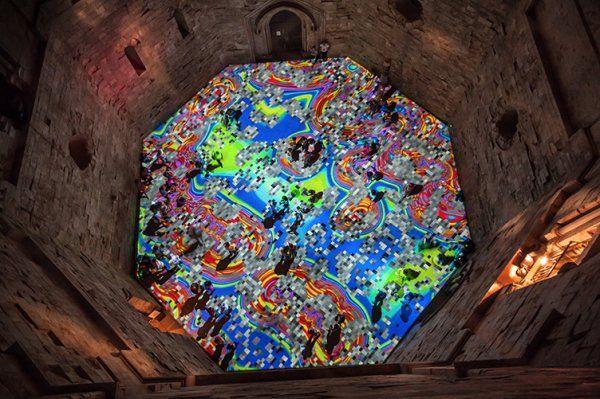 Magic Carpets,2014, Castel Monte, Italy.