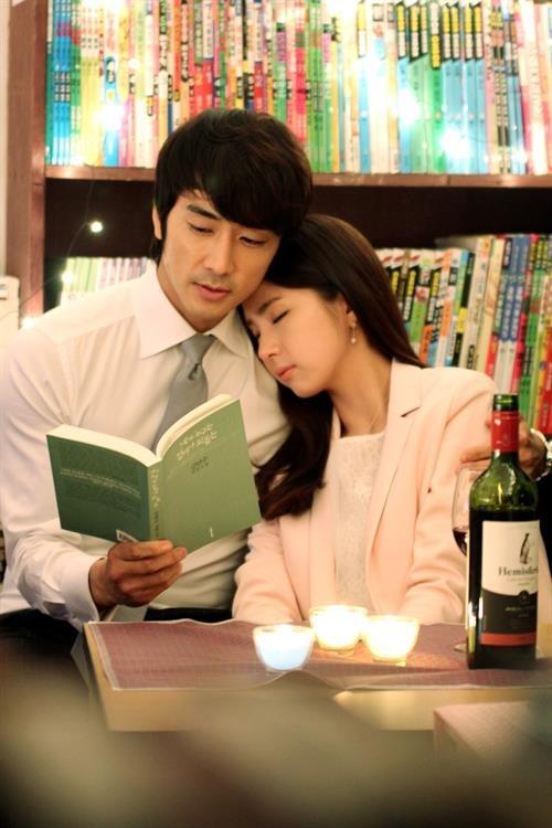 song seung heon and shin se kyung when a man lovescan