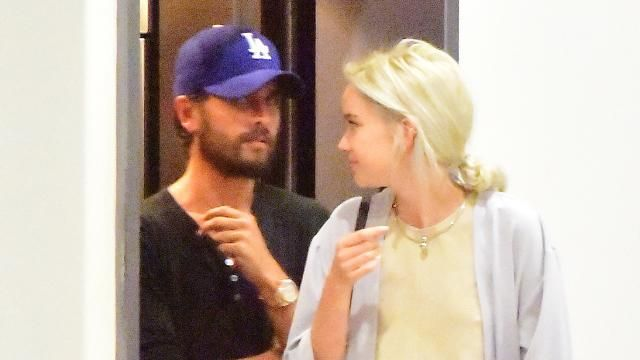 Scott Disick is staying with a beautiful blonde in NYC.