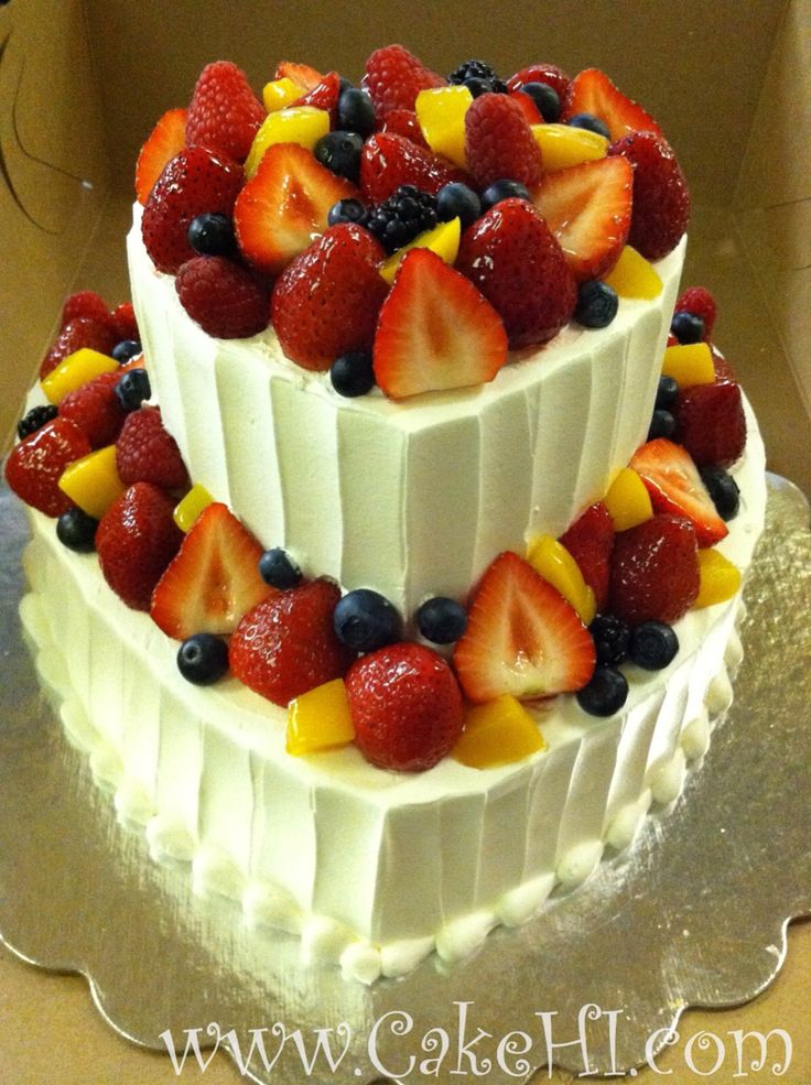 simple fruit wedding cake recipe 11 best fresh and fruits images on 19988