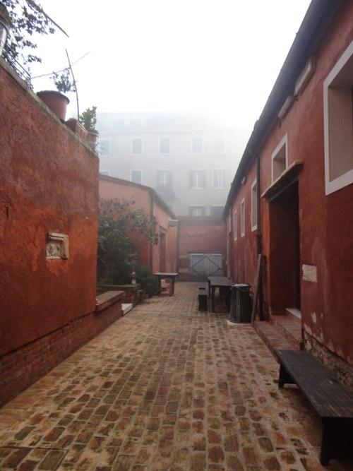 The Courtyard at the Scuola Internazionale di Grafica