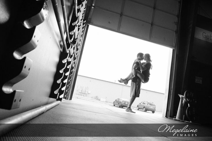 Karie & Andy | Crossfit Engagement Session | Megelaine Images | Indianapolis Wedding Photographer