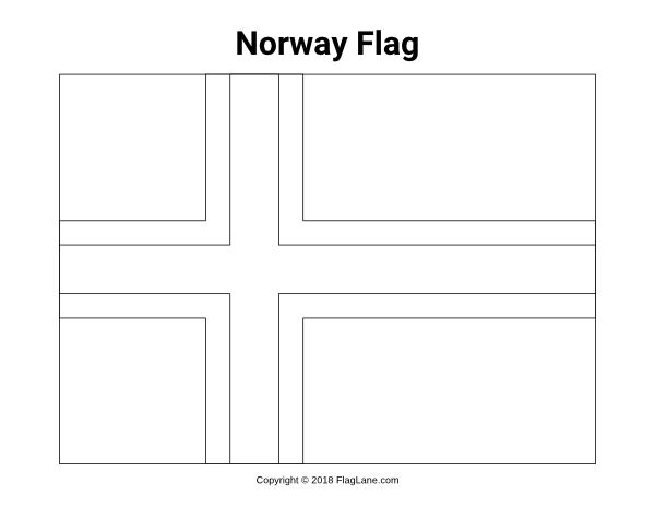 Free printable Norway flag coloring page. Download it at ...