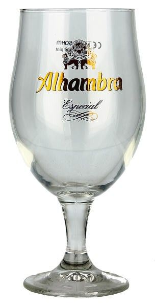 alhambra beer glass - Buscar con Google
