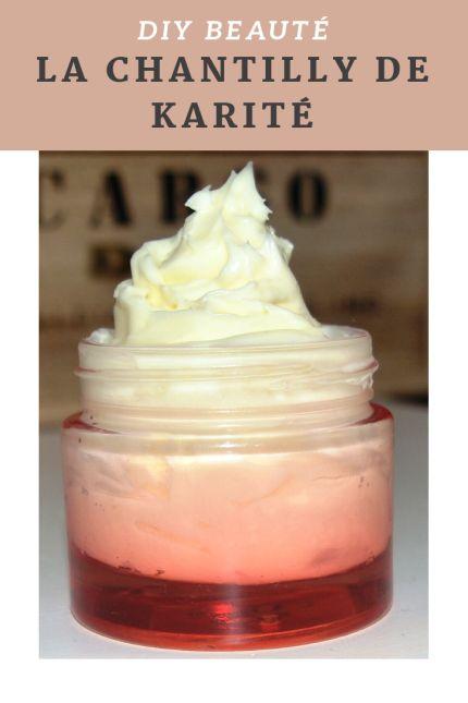 Recette facile de crème fouettée au karité pour le corps et les cheveux …