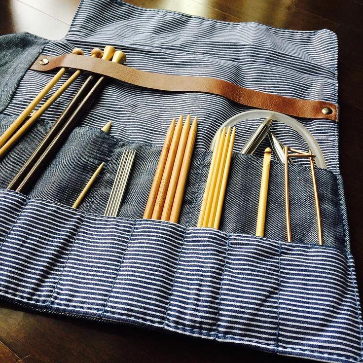 Circular Knitting Needle Storage Organizers : Best images about knitting needle storage on pinterest