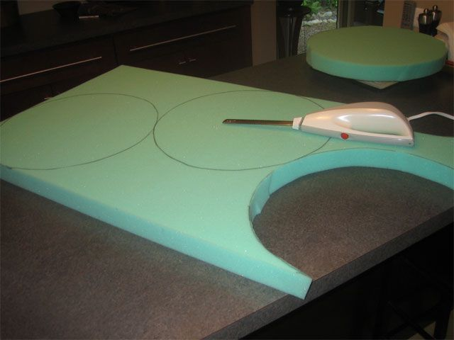 Making Round Chair Cushions For The Patio