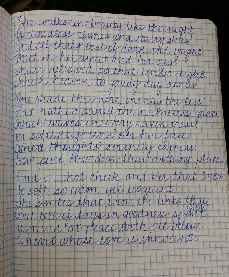 54 besten handwriting Bilder auf Pinterest | Kalligraphie ...