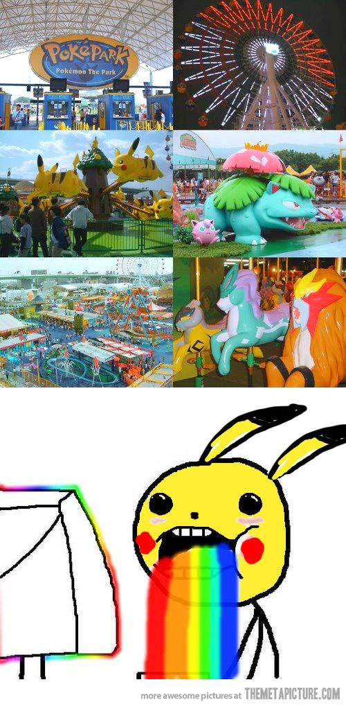Pokemon Park -- Elizabeth, I think we need a long vacation!!! :D