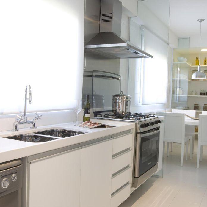 Die besten 25+ Cozinha compacta branca Ideen auf Pinterest - led leiste küche